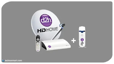 d2h combo offer with magic stick, set top box