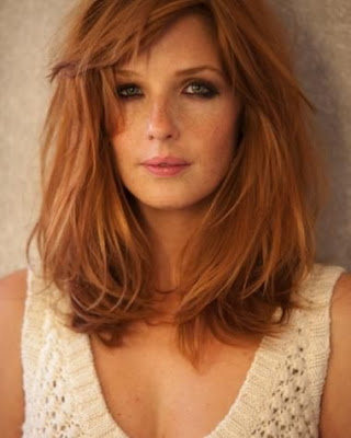 red lob hair style idea