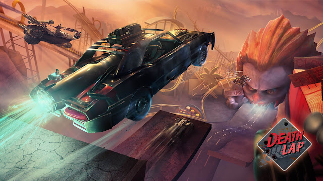 DEATH LAP — THE NEW VR COMBAT RACING GAME FROM OZWE GAMES STUDIO, AVAILABLE ON THE OCULUS QUEST AND THE RIFT PLATFORM