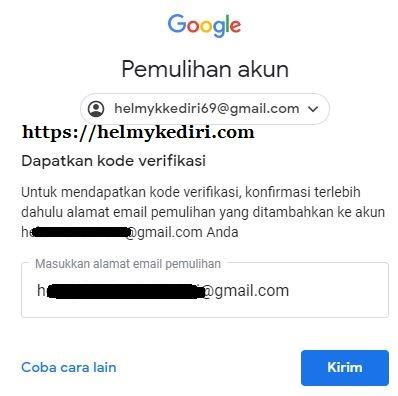 Cara Mengatasi Akun Gmail Yang Lupa Password Dan Cara Ganti Password Blog Orang It