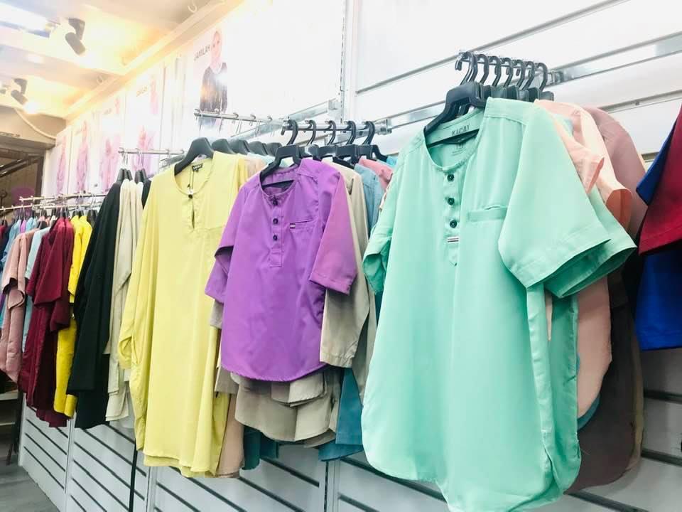 Baju Raya Sedondon Family Set - byfarahh.com