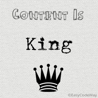 Content Is King-write eye catching posts to get more share and likes