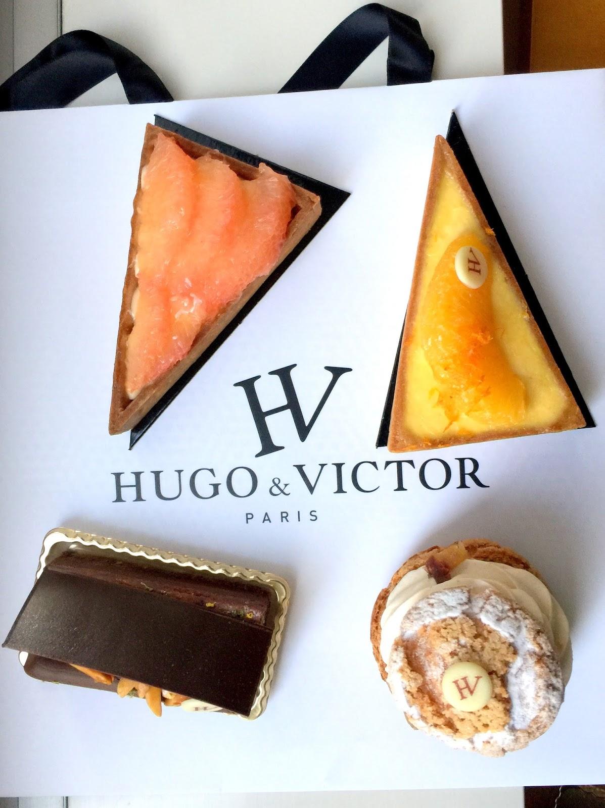 Victor Hugo Food Truck Menu