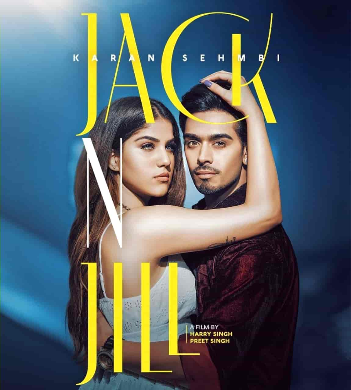 Jack N Jill Punjabi Song Image Features Karan Sehmbi and Aveera Singh