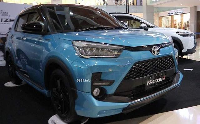 Toyota Raize 1.0T GR Sport CVT 2 tone