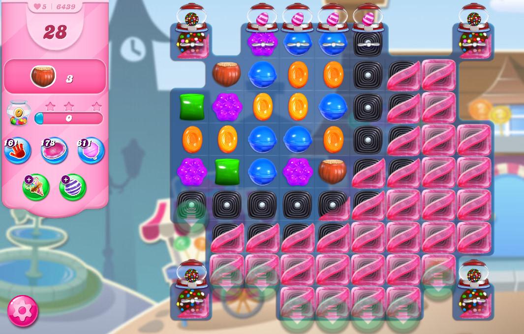 Candy Crush Saga level 6439