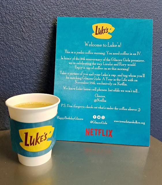 Netflix Luke's Diner Sign