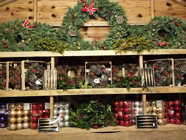 Pines and Needles Christmas accessories shop in St Albans
