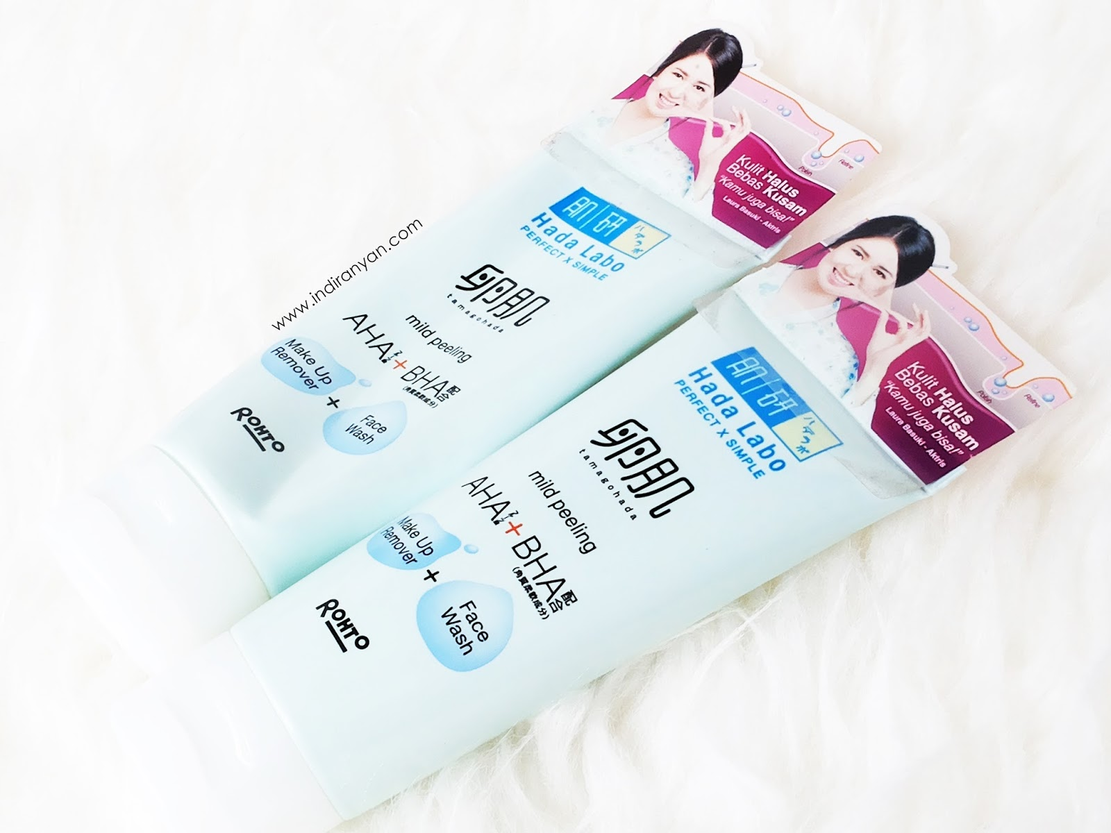 Hada-Labo-Tamagohada-Ultimate-Mild-Peeling-Face-Wash-Make-Up-Remover
