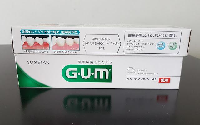 Kem đánh răng G.U.M Sunstar - Hàng Nhật