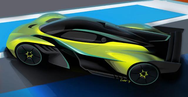 Новый Aston Martin Valkyrie бьет рекорд скорости в 250 миль час