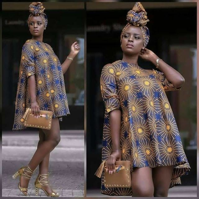 2019 Finest Ankara Short Gown Styles