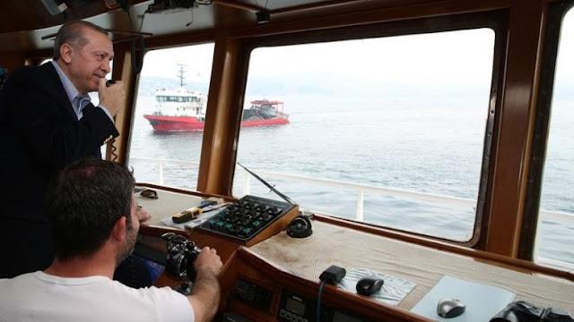 Οι Τούρκοι ψαράδες λειτουργούν με εντολές του Ταγίπ στο Αιγαίο