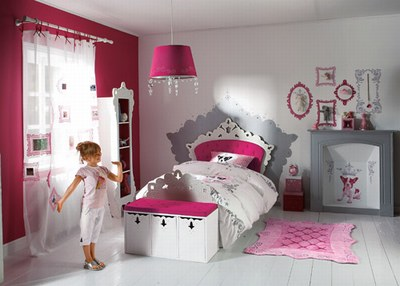 design chambre fille. Black Bedroom Furniture Sets. Home Design Ideas
