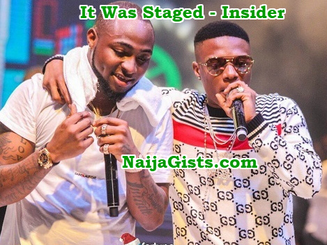 davido wizkid reunion staged