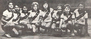 basquete feminino vasco 1965