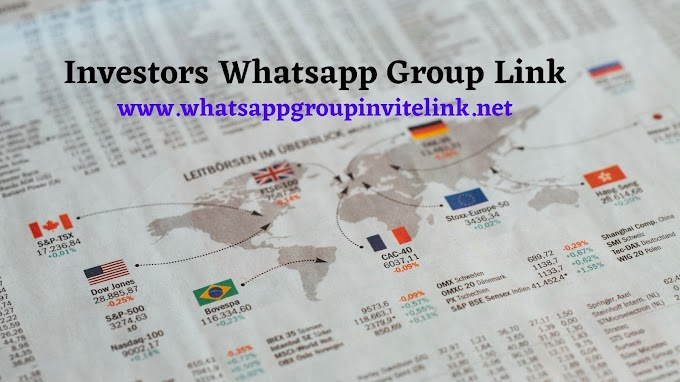 Join 619+ Investors Whatsapp Group Link