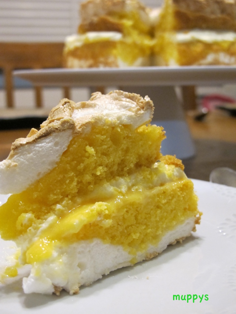 Nigella Lemon Meringue Cake