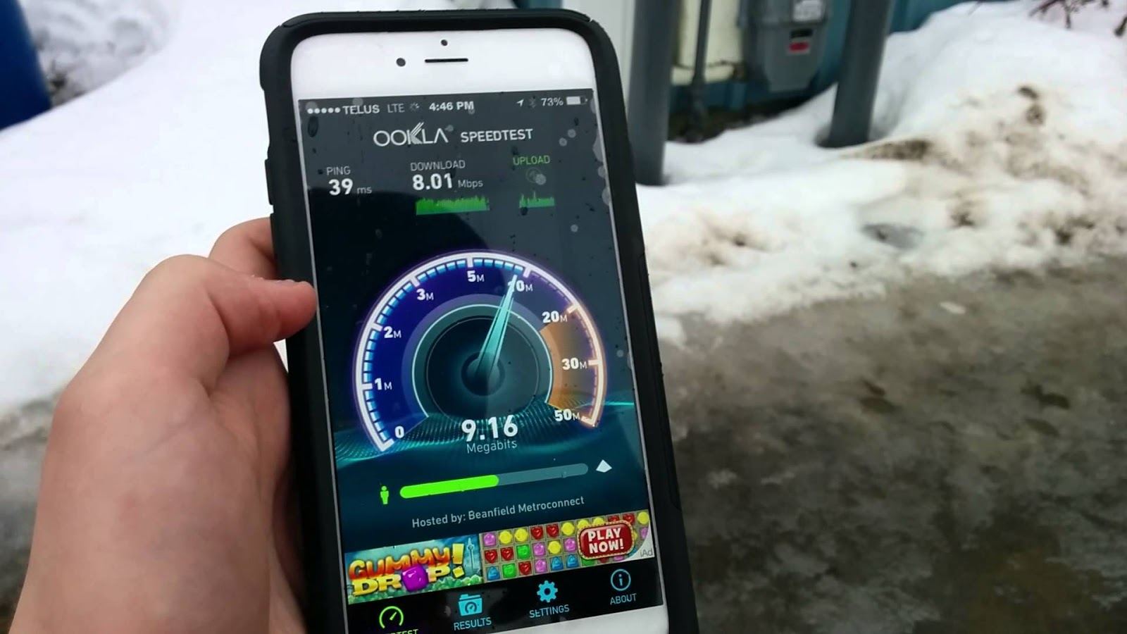 iPhone 6s e internet LTE