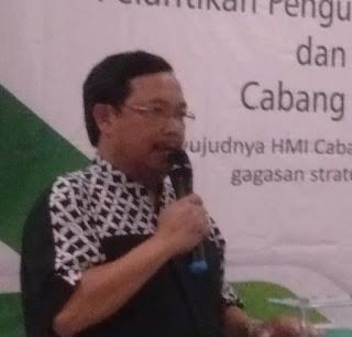 Herman Khaeron , HMI Harus Ikut Turut Membangun Bangsa