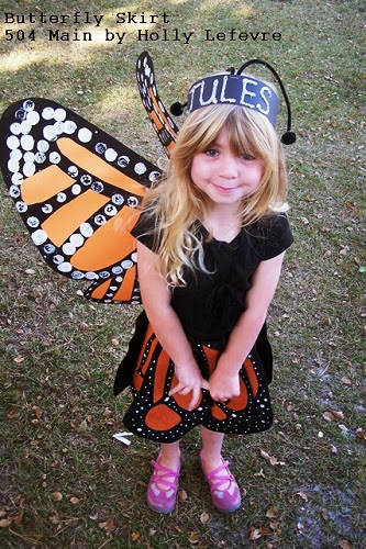 Monarch butterfly skirt by 504 main