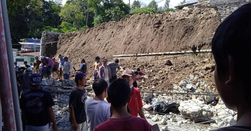 Polisi Periksa 6 Saksi Terkait Robohnya Tembok Penahan Gereja St. Yosep Parapat