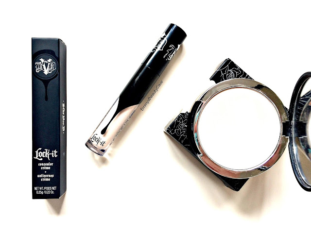 Kat Von D lock it concealer, kat von d lock it powder foundation