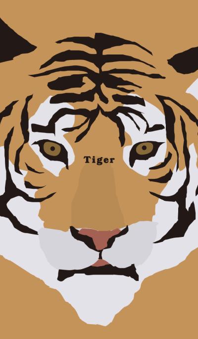 Animal face Tiger