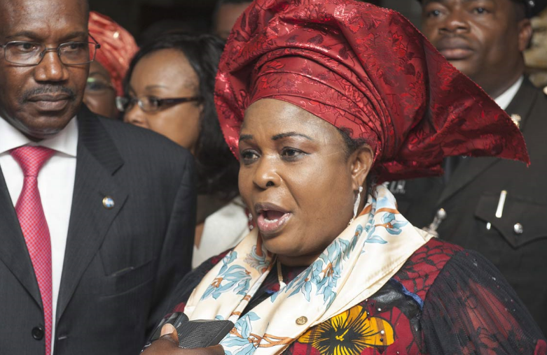 Lagos High Court granted a fresh ex-parte application ordering the forfeiture of 5.8m dollars belonging to a former First Lady, Patience Jonathan.