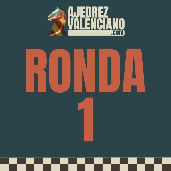 DISPONIBLES TODOS LOS RESULTADOS DE LA RONDA 1 (No oficial)