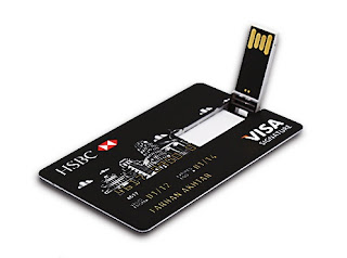 Real Capacity Bank Card USB Memory stick HSBC MasterCard Credit cards USB Flash Drive 64gb Pendrive 4GB 8GB 16GB 32GB Pen drive- Cool Pen drive models collection