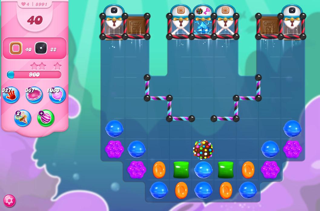 Candy Crush Saga level 8991