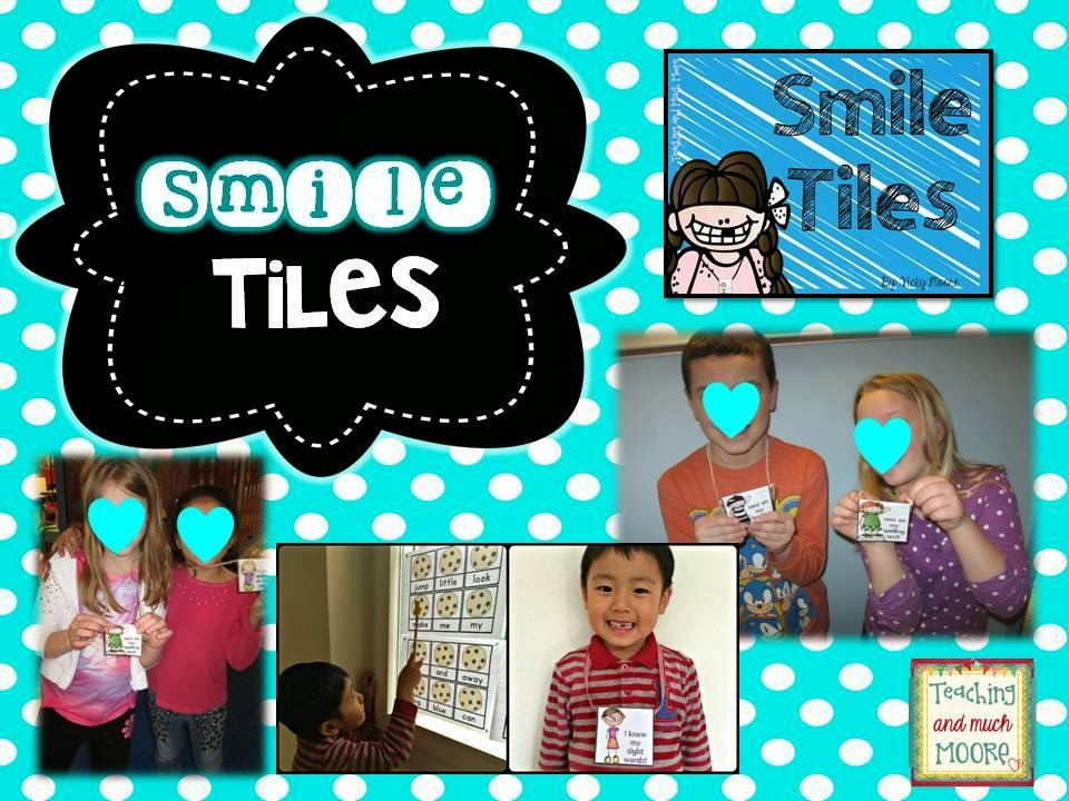 smile tiles, brag tags