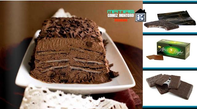 Marquesa de Chocolate con after eight 2