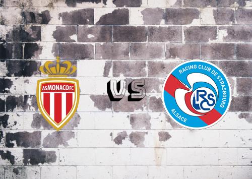 AS Monaco vs Strasbourg  Resumen