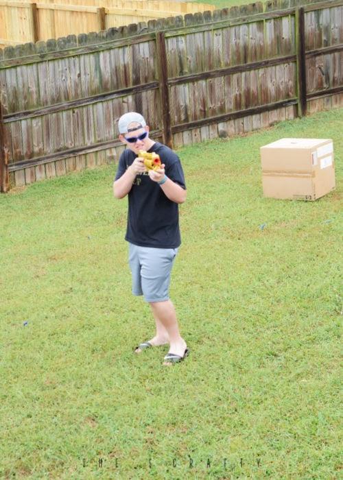 Summer Bucket List Ideas to do at Home - nerf war