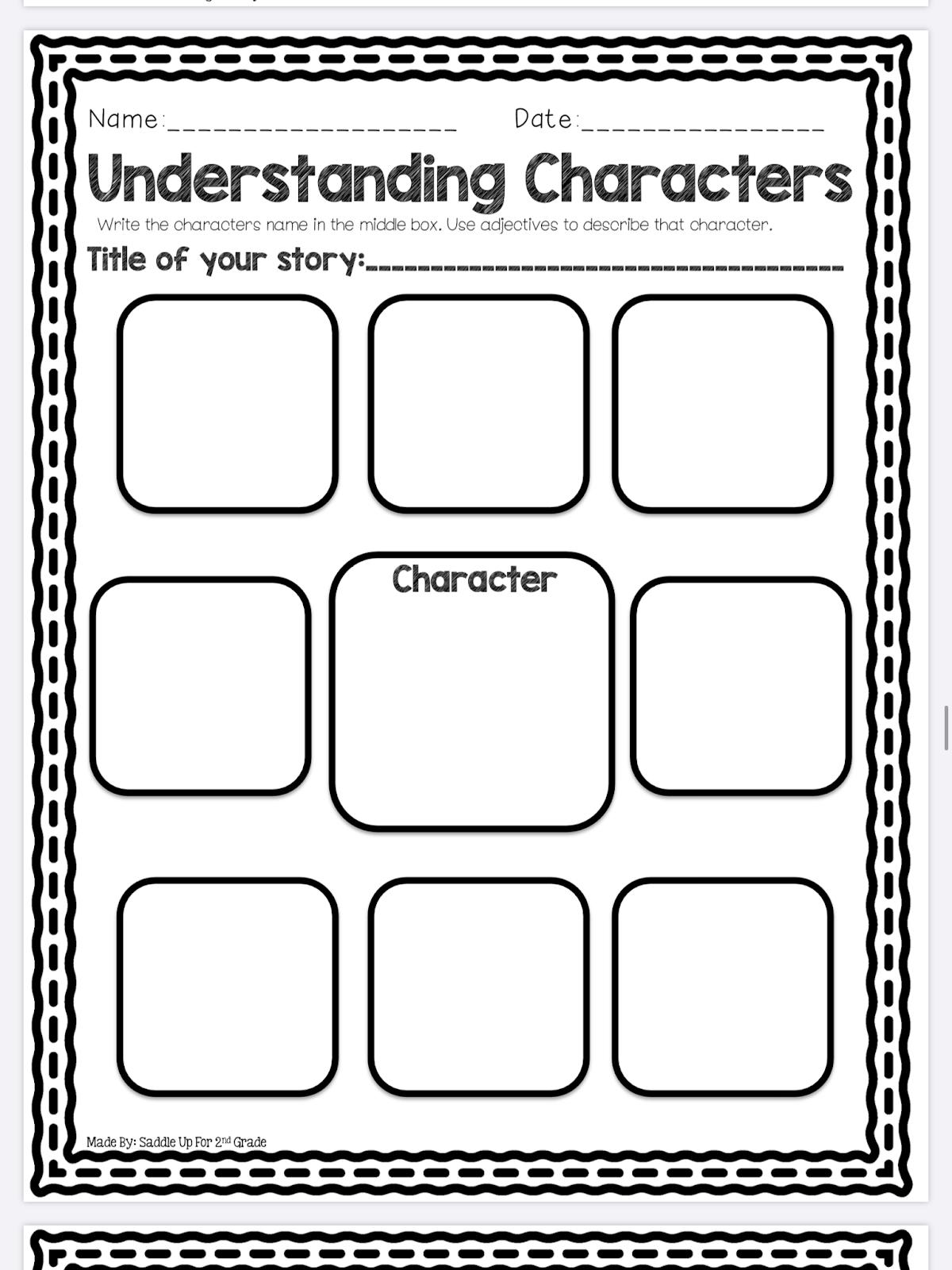 Mrs Mcnitt S 2nd Grade Elaboration Amp Character Traits