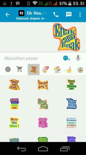 BBM Latest Free Sticker New BackUp [Update]