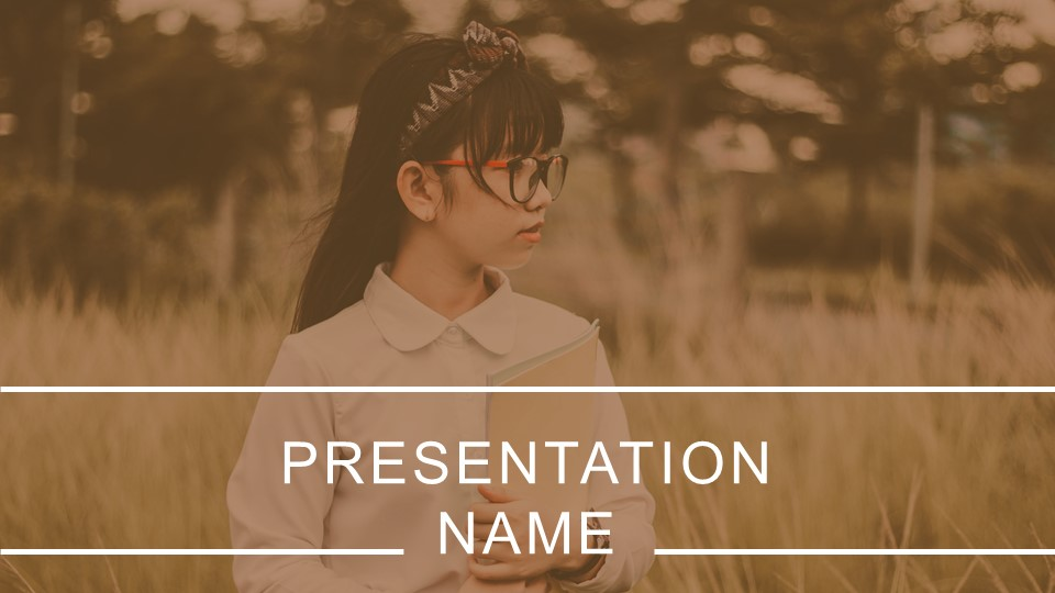 PowerPoint introduction shows a student