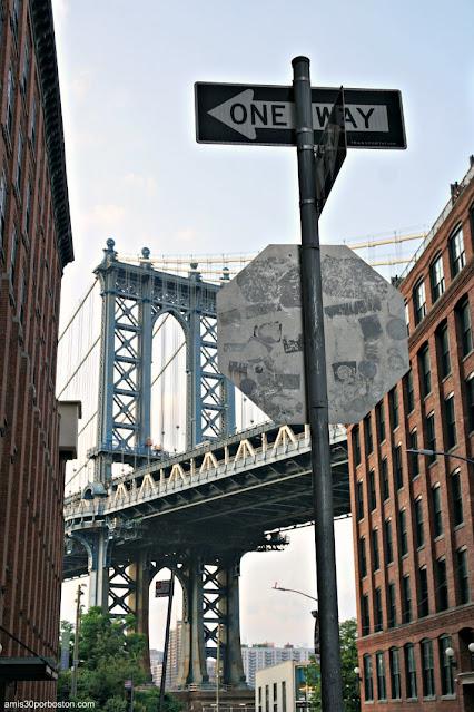 Manhattan Bridge desde Brooklyn