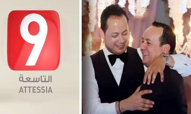 سمير الوافي وعلاء الشابي  attessiatv scandal elwafi alaa chebbi