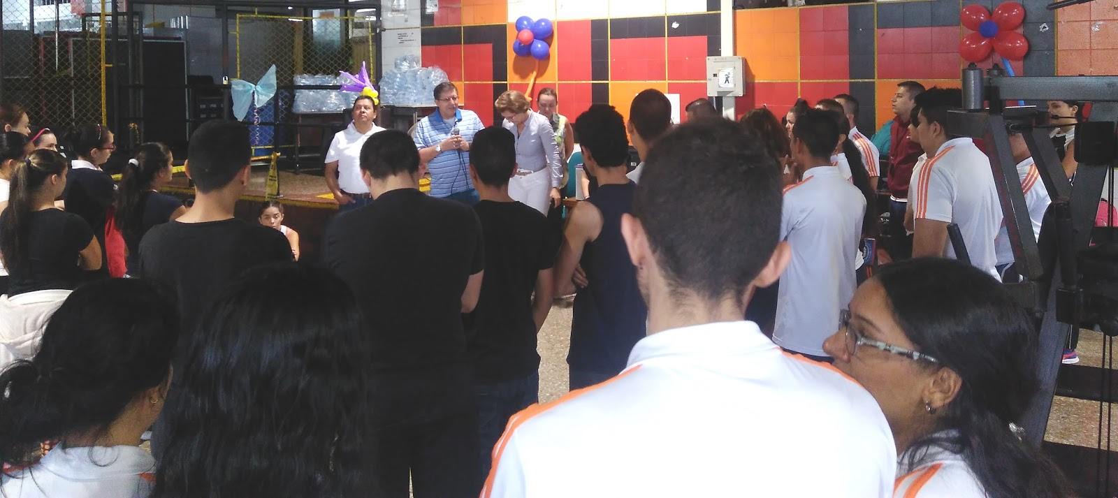 Notisena risaralda reinauguraci n del gimnasio del centro for Gimnasio del centro