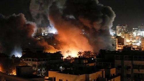 Terkini, Gaza Diluluh-lantakkan Israel yang Menyebutnya Baru Permulaan, Menhan Gantz: Hamas Sudah Terpukul Keras!