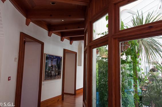 Interior capricho de Gaudi-Invernadero. Comillas