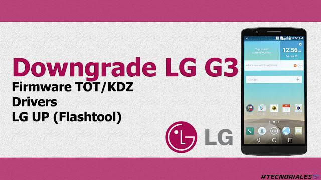 downgrade Lg g3
