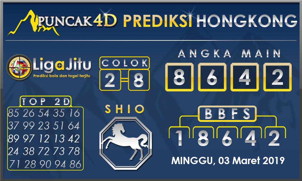 PREDIKSI TOGEL HONGKONG PUNCAK4D 03 MARET 2019