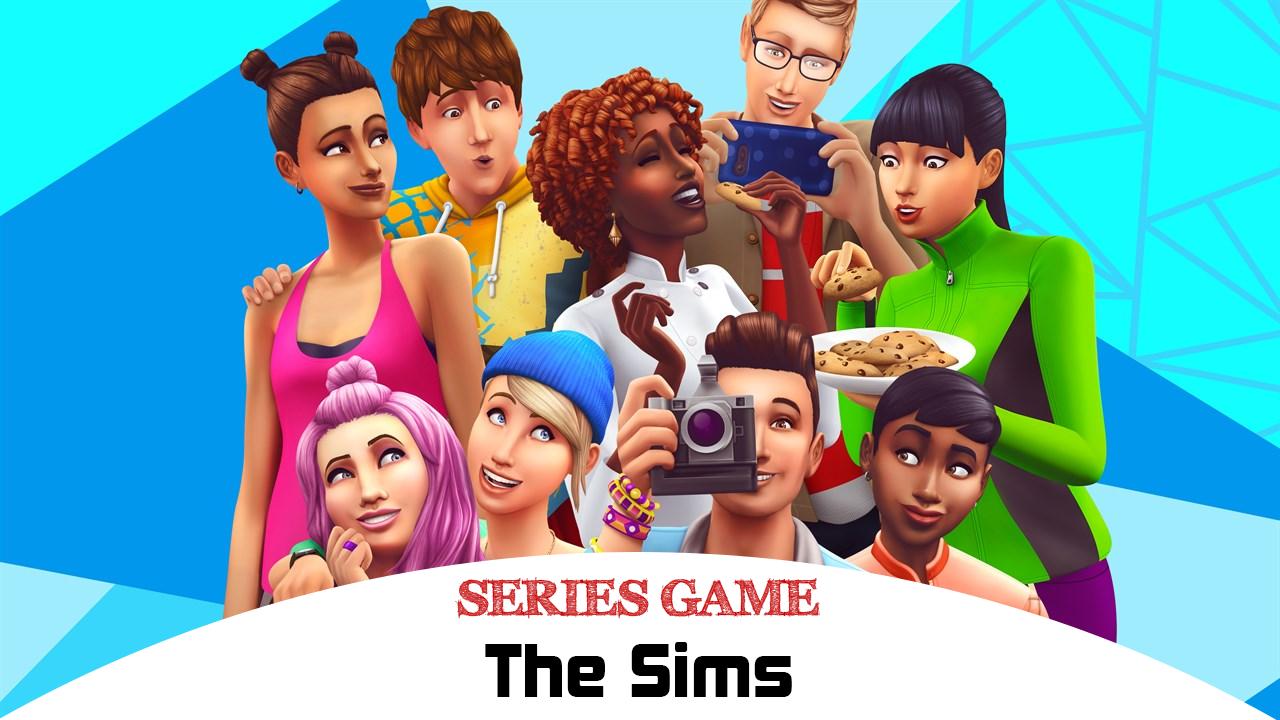 Danh sách Series Game The Sims  bao gồm đầy đủ các phiên bản được phát hành trên nền tảng máy tính