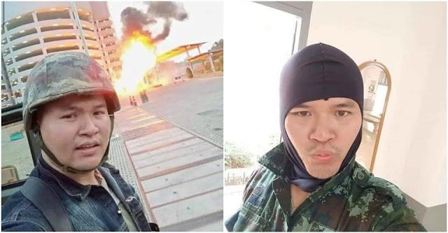 Inilah Wajah Askar Thailand Yang Mengamuk Buat Live Bunuh Lebih 12 Orang Awam