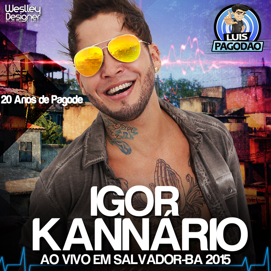 novo cd do igor kannario 2014