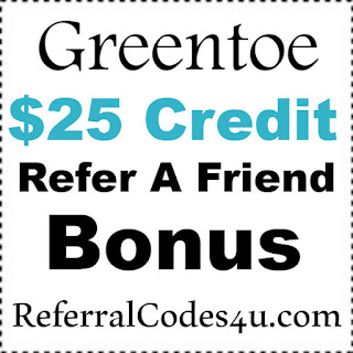 Greentoe.com Coupon Code 2017, Greentoe Referral Program 2017, Greentoe Sign up Bonus